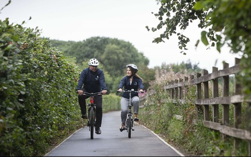 New cycling path opened at Glasgow Airport