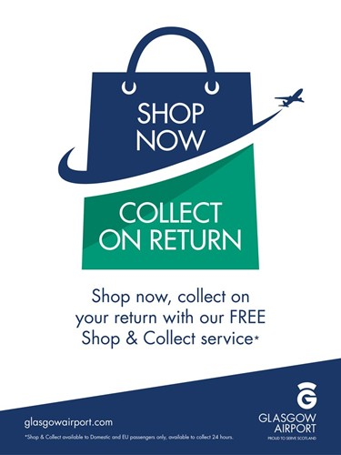 Shop & Collect from Glasgow Airport