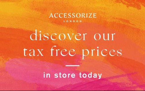 Discover Accessorize's Tax-Free Prices